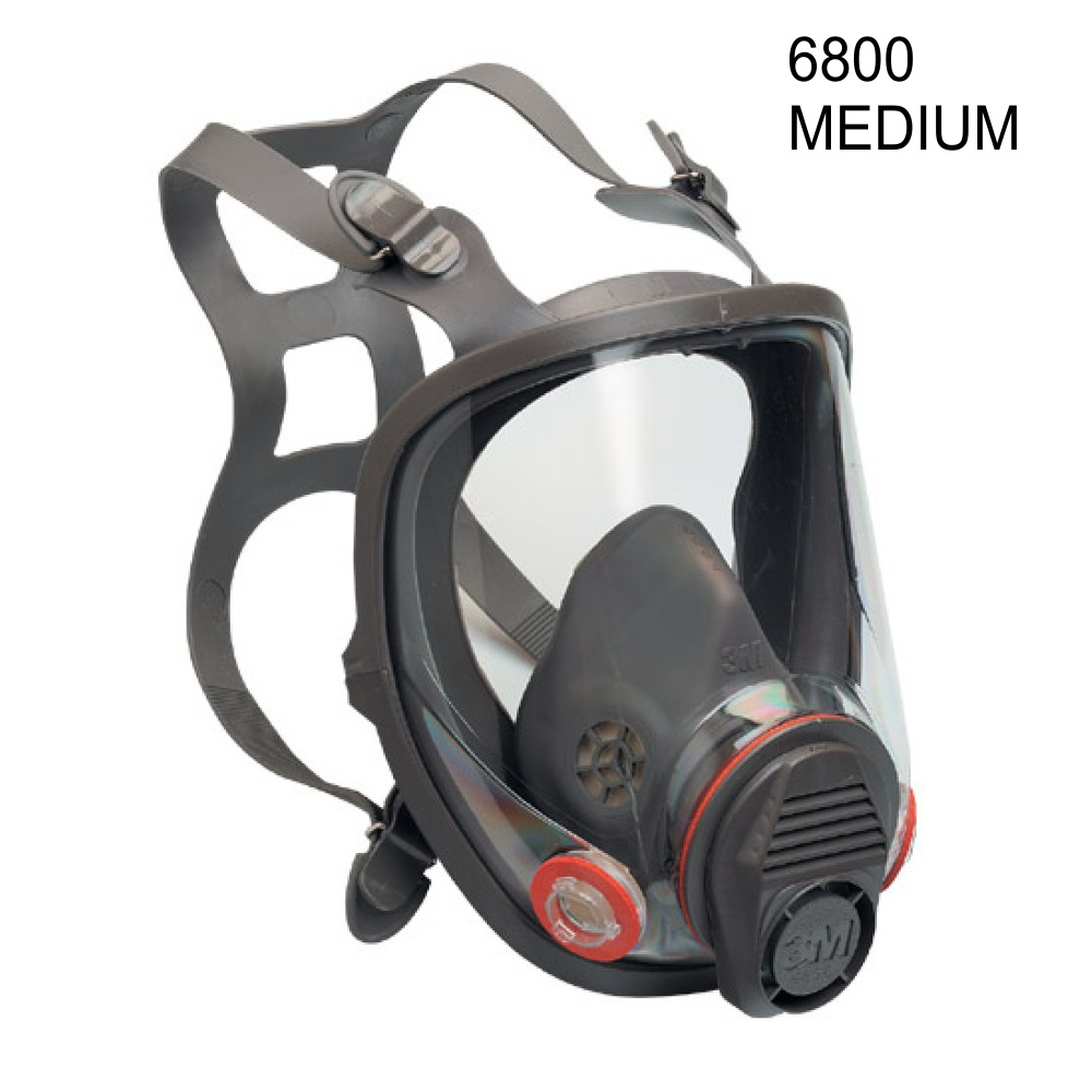 3m 6800 full face vapor dust mask