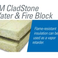 Water & Fire Block Insulation