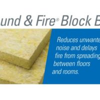 Sound Attenuation Fire Batts